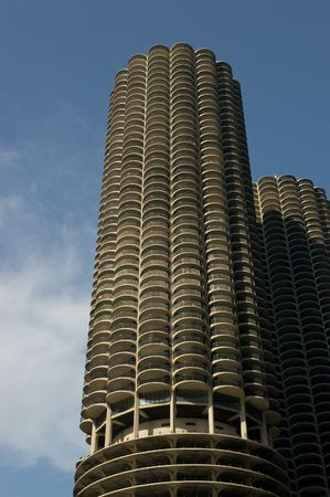 Marina City Towers in Chicago, Illinois