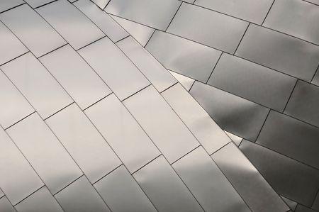 titanium: Detail of a Titanium Roof