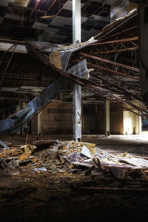 abandoned warehouse: Abandoned Department Store