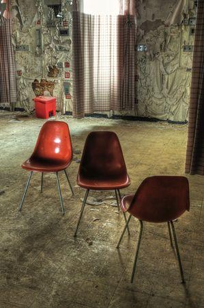 Hospital Room Chairs Stock Photo - 4787033