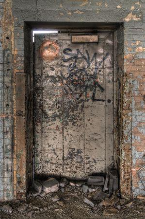 Decayed Door