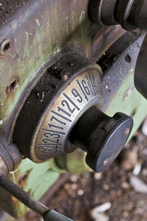 Machinery Knob Stock Photo - 4828679