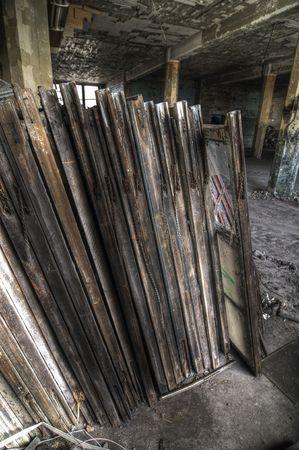 Old Window Frames Stock Photo - 4952312