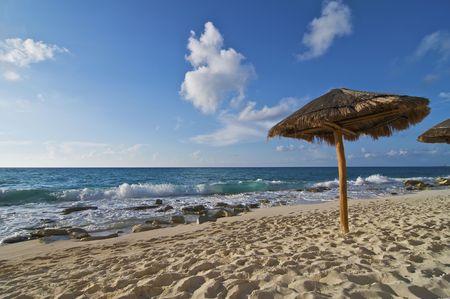 palapa: Caribbean Beach Palapa