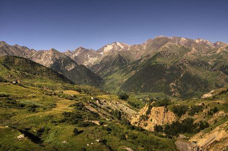 Pyrenees Mountains Reklamní fotografie