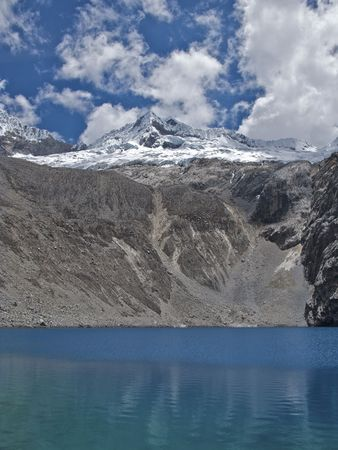 Mountain Lake in Peru