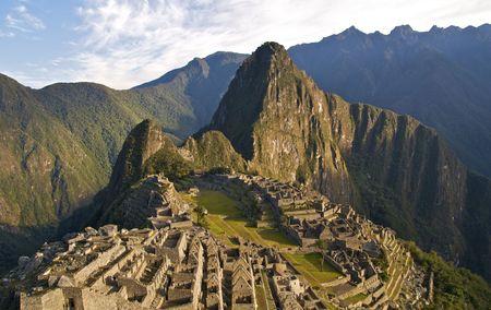 Por la ma�ana en Machu Picchu