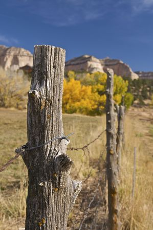Ranch Fence in Arizona Stock Photo - 5844721