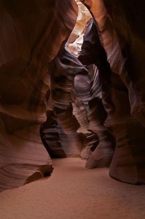 Superior Antelope Canyon de ranura cerca de p�gina, Arizona