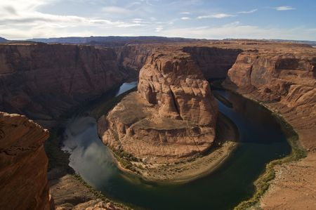 Horseshoe Bend near Page, Arizona photo
