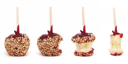 Candy Apple en cuatro etapas