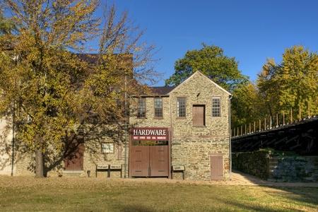 Tradiční Železářství v Harpers převozu, Západní Virginie