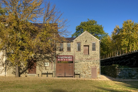 Traditional Hardware Store in Harpers Ferry, West Virginia