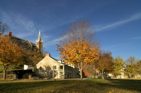 Overview of Historic Harpers Ferry, West Virginia