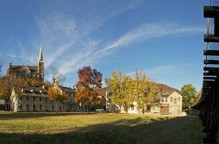 Přehled Historic Harpers Ferry, Západní Virginie