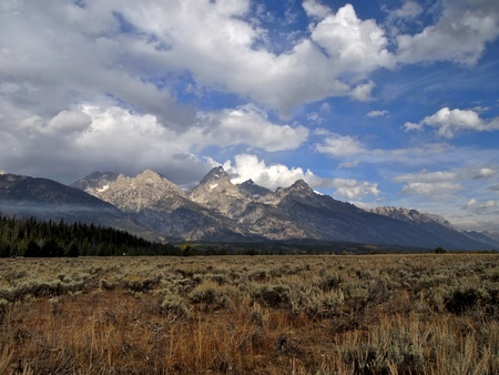 Grand Teton National Park in early Autumn Stock Photo - 11221443
