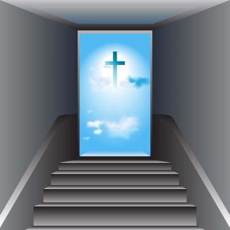 arrepentimiento: Stairway to Heaven camino hacia Dios, la Cruz de Jesucristo