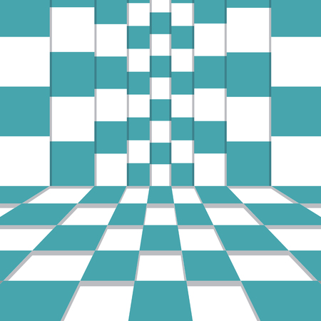 Vector illustration vertical and horizontal checkered fields.