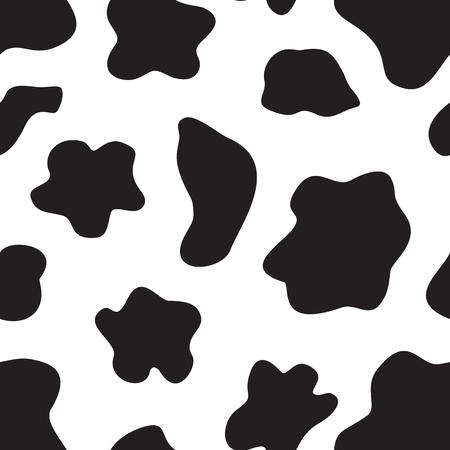 Nahtloser Hintergrund mit zufälligen schwarzen Elementen. Tierschmuck.