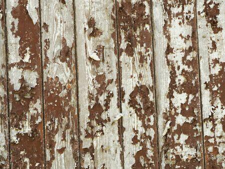 Vintage background - an old wooden Board painted in red. Reklamní fotografie