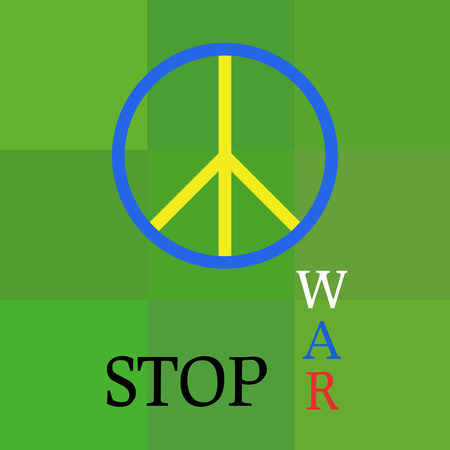 geopolitics: Peace template about war aggression