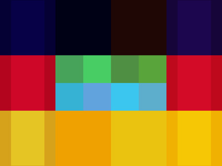 Numerous of shapes. Nice Palette Vector
