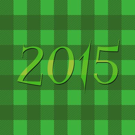 2015 Vrolijk Kerstfeest en Gelukkig Nieuwjaar Flyers, covers, posters en pagina's. Hipster ontwerp. Ongebruikelijke stijl. Vector Stock Illustratie