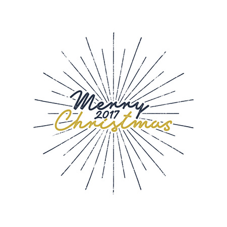 Merry Christmas And Happy New Year Lettering, Holiday Wish, Saying ...