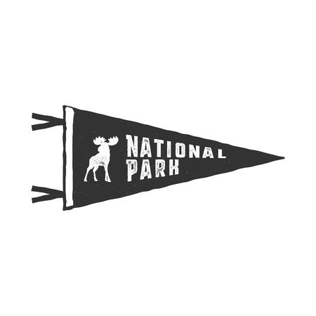 国立公園のベクトル  イラスト・ベクター素材