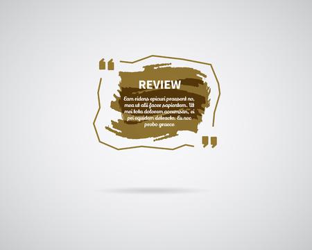 Aquarelle, encre splash Citer le modèle vierge. Citation bulle Modèle vide Modèle de carte de visite de cercle, feuille de papier. Banque d'images - 76469662