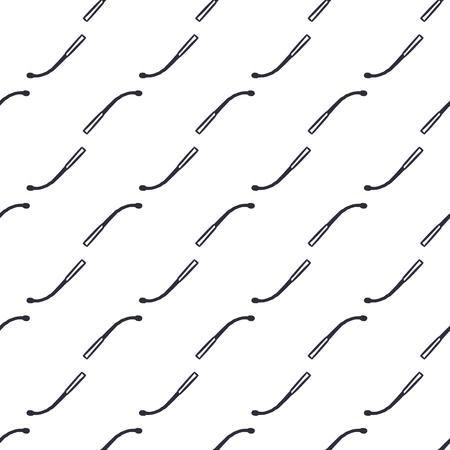 다른 손으로 그려진 된 매끄러운 질감 흰색 배경에 일치합니다. 패턴 벽지. 주식 벡터 일러스트 레이 션. 단색 소박한 스타일