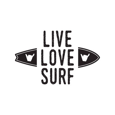 Vintage surf  print design for t-shirt and other uses. See you on the next Wave typography quote calligraphy and glasses icon. Unusual hand drawn surfing graphic patch emblem. Stock vector
