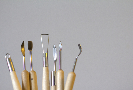 Tools for sculpting from Polymer clay