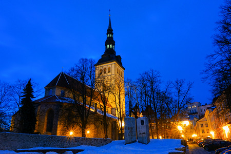 St. Nicholas Church in Tallinn, Estonia is an old medieval church which now functions as an Art Museum of Estonia and previously it has been serving a concert hall as well