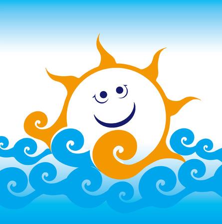 sun sea wave sailing smile summer travel joy happiness blue rest vocation