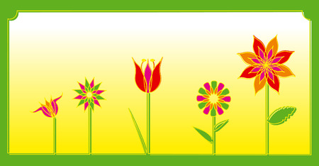 spring flowers decoration colors