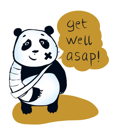 get well: If you are sick, may panda bear encourage you  Get well asap! Panda wish you were healthy and  joyful. Enjoy your life!