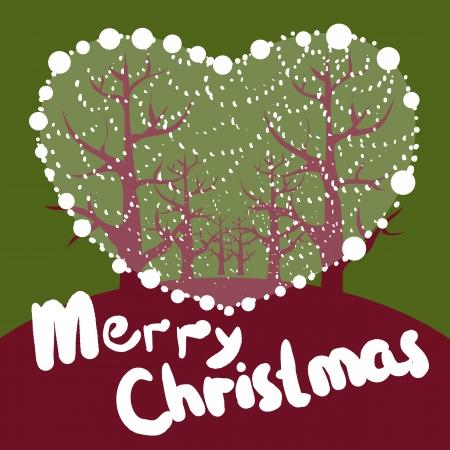 L'amour est descendu à Noël Au belle nuit a été Jésus né