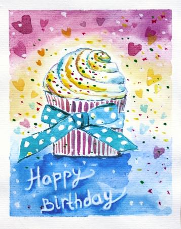 L'anniversaire est une fête joyeuse. Partie, des cadeaux, des gâteaux et décoration tout ce qu'il faut pour se sentir heureux