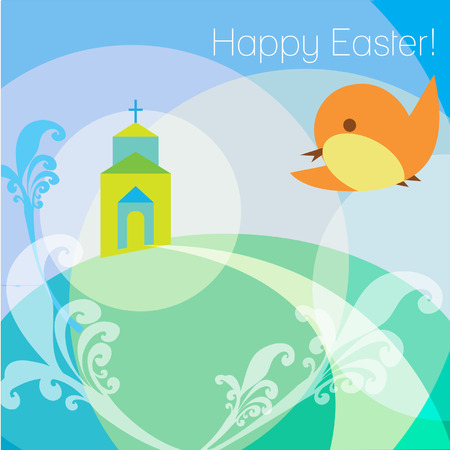 everlasting: Christ is risen Easter greeting card
