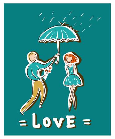 Amour de Idéal Homme et Femme