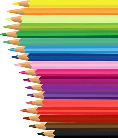 Colored pencil Vector