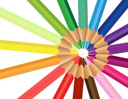 Colored pencil Stock Vector - 3429190