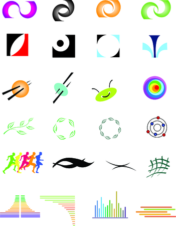 Collections of different signs Vector