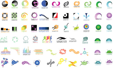 Collections of different signsv Vector