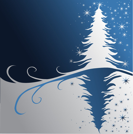 Christmas treev Vector