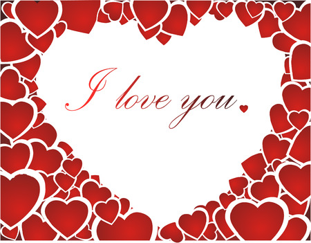 I love you Stock Vector - 4113787