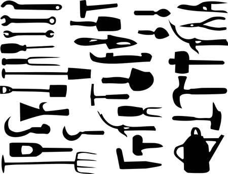 pincer: Tools illustration Illustration