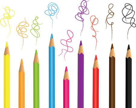 specter: Colored pencils Illustration