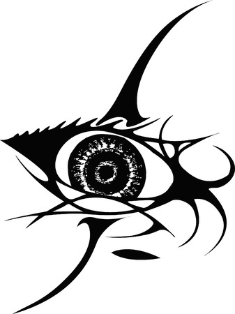 eye tattoo: Tatuaje
